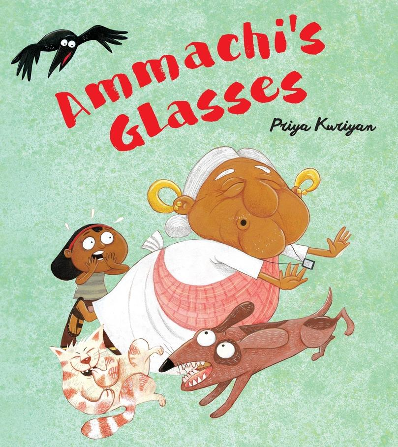Ammachis Glasses Wordless Picture books  Age_0+   (Award Winner)