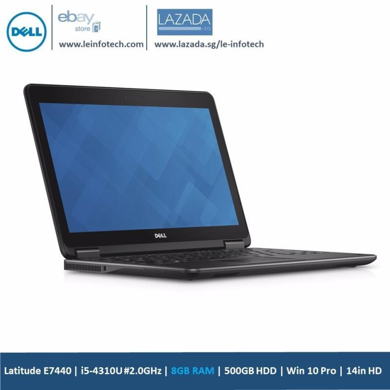 DELL Latitude E7440 Notebook 14.1Core i5 4310U#2.00GHz 8GB RAM 500GB HDD Win 10 Pro One Month Warranty Used