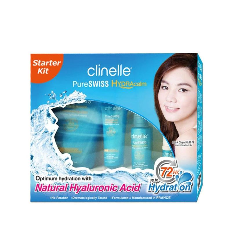Buy CLINELLE PureSwiss HydraCalm Starter Kit 1s Singapore