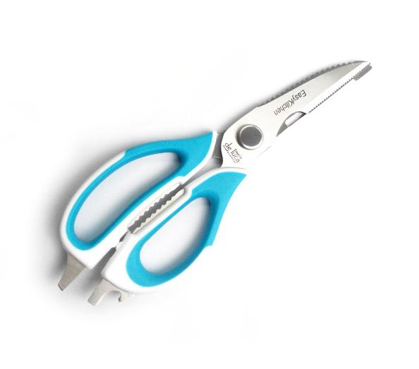 Detachable Kitchen Scissors - Blue/white By Nicedeal Sg