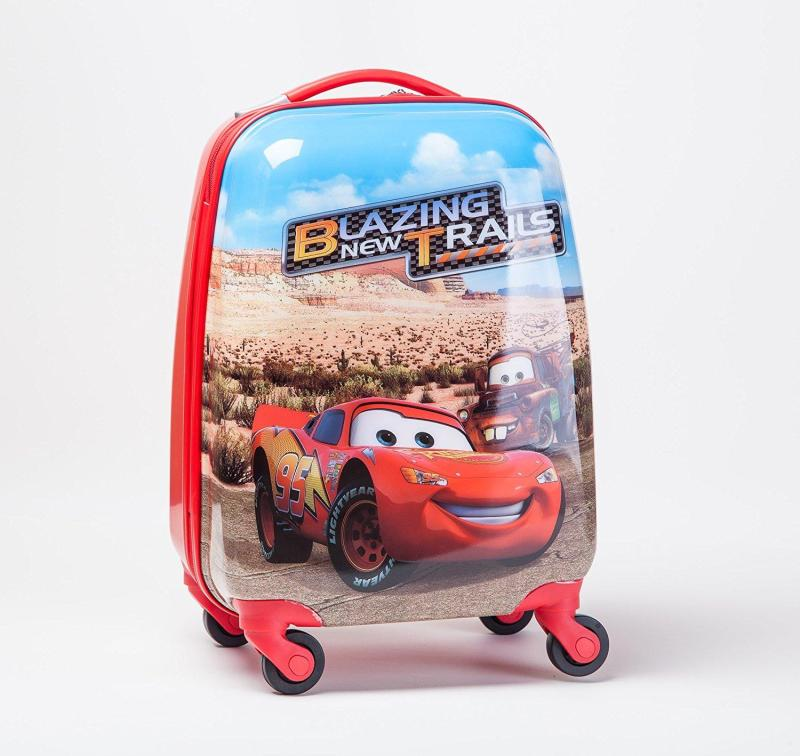 Lightning Mcqueen Kids Luggage (Marvel)