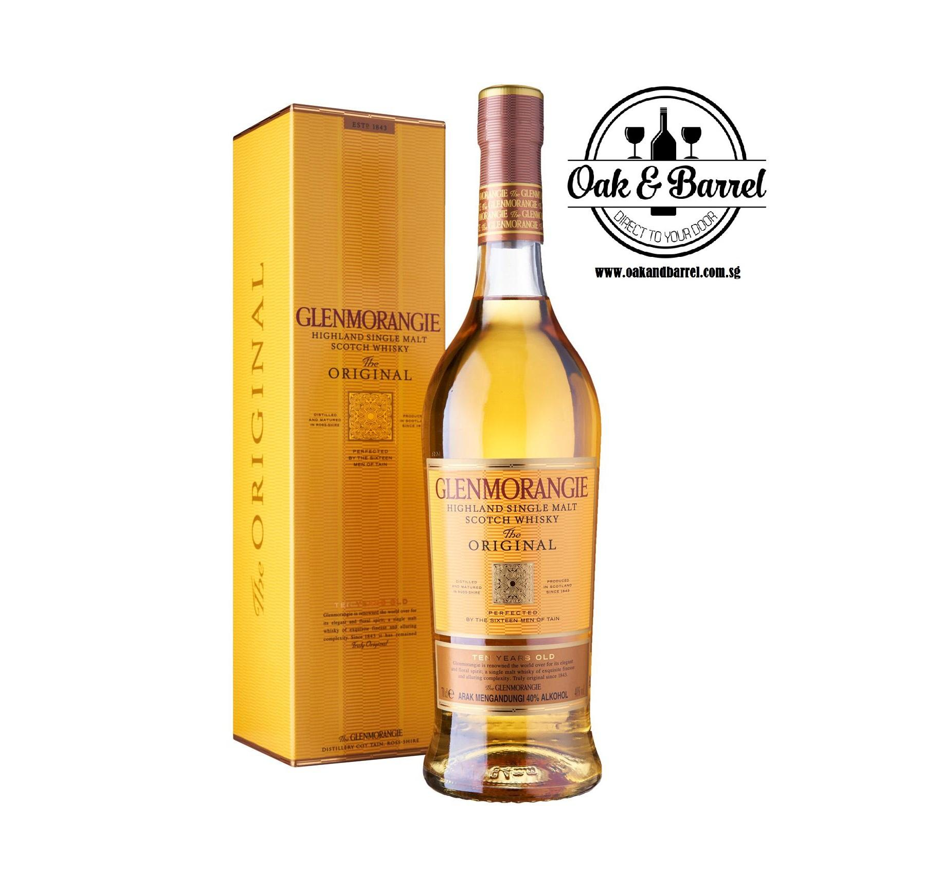 Price Glenmorangie 10 Year Single Malt 70Cl Singapore