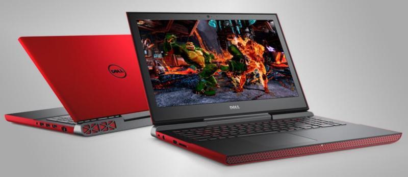 DELL 7567-770114GL GTX 1050Ti 4GB GDDR5 i7-7700HQ 16GB DDR4 256GB SSD + 1TB HDD Windows 10