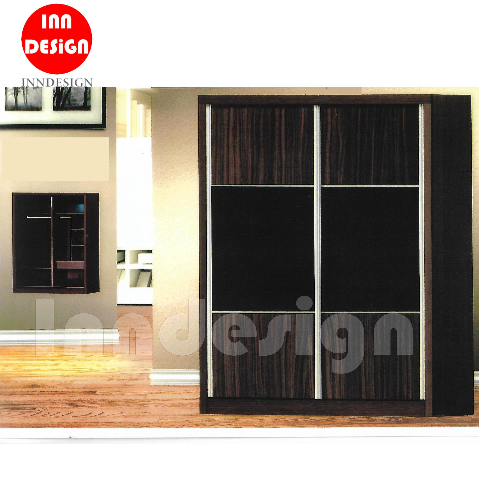 Jass 5ft Sliding Wardrobe (Free Delivery and Installation)