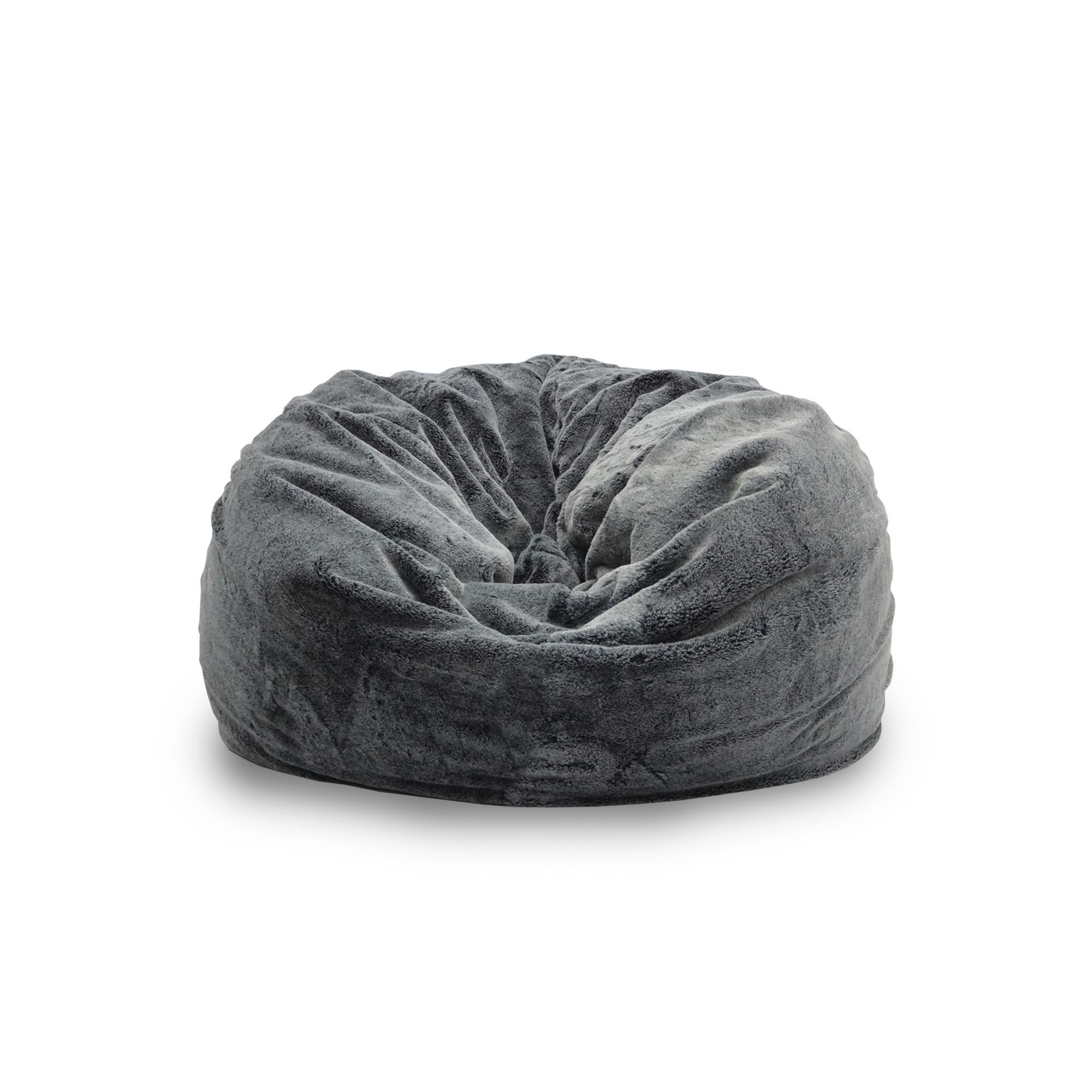 Achelous Premium Bean Bag (Medium) – Charcoal Black