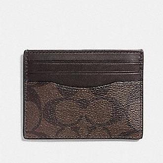 Coach Men's Slim Card Case Holder Collection