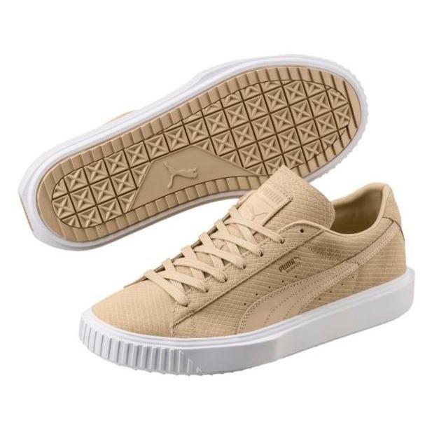 PUMA Breaker Suede Women Sneakers - PebblePebble a1c0092c19