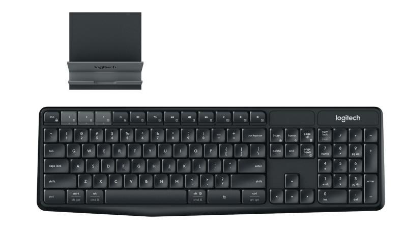 Logitech K375s Multi-Device Wireless Bluetooth Keyboard with Stand Singapore