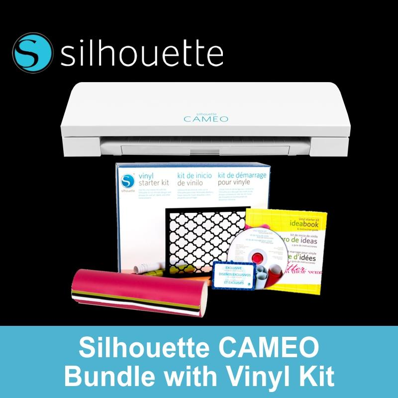 Who Sells Silhouette Cameo 3 Vinyl Cutter Starter Kit Bundle