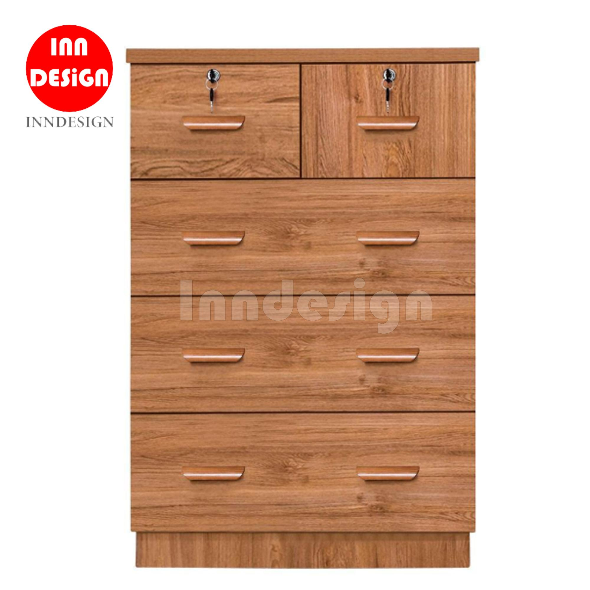 Spacer Chest of 5 Drawers (Fully MDF)
