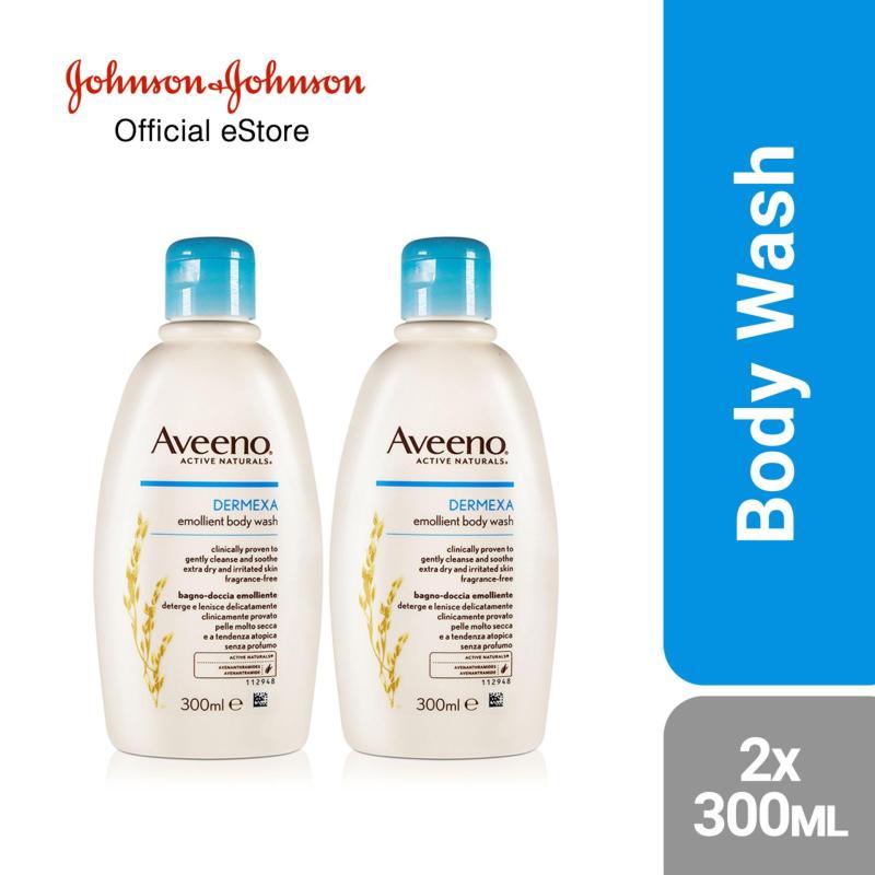 Buy Aveeno Dermexa Body Wash 300ml x 2 Singapore