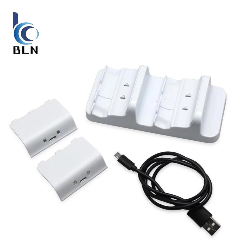 Where Can I Buy 【Bln Gaming】For Xbox One S Dual Charging Dock Controllers Charger With 2Rechargeable Battery