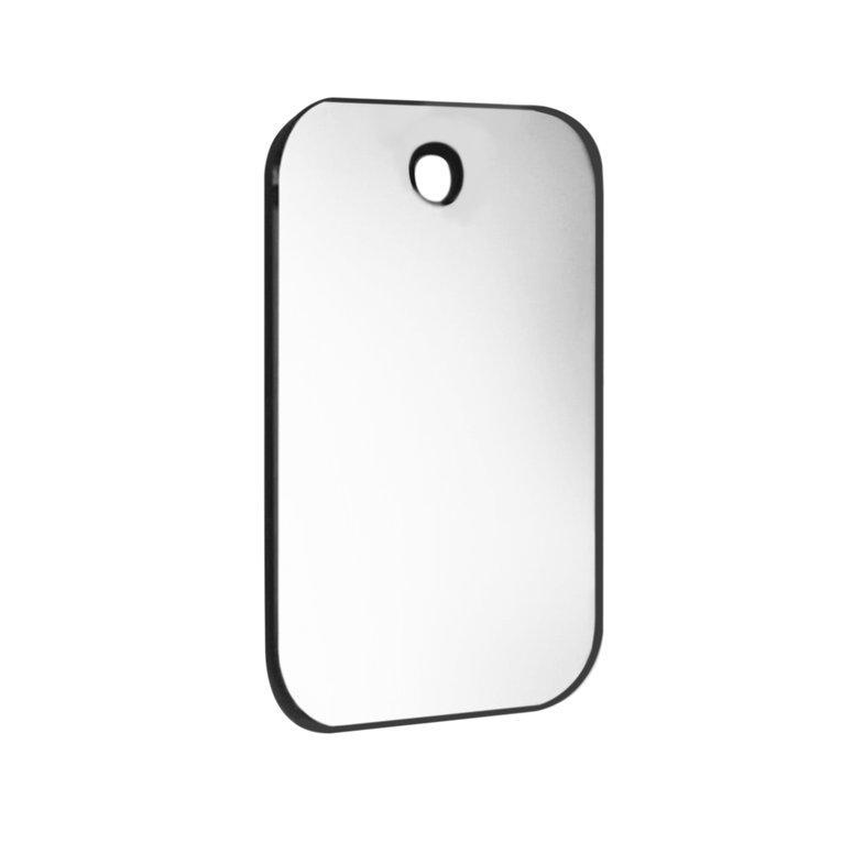 KAKA Shatterproof PVC Anti-Fog Fog Free Shower Mirror Bathroom Fogless Mirror silver