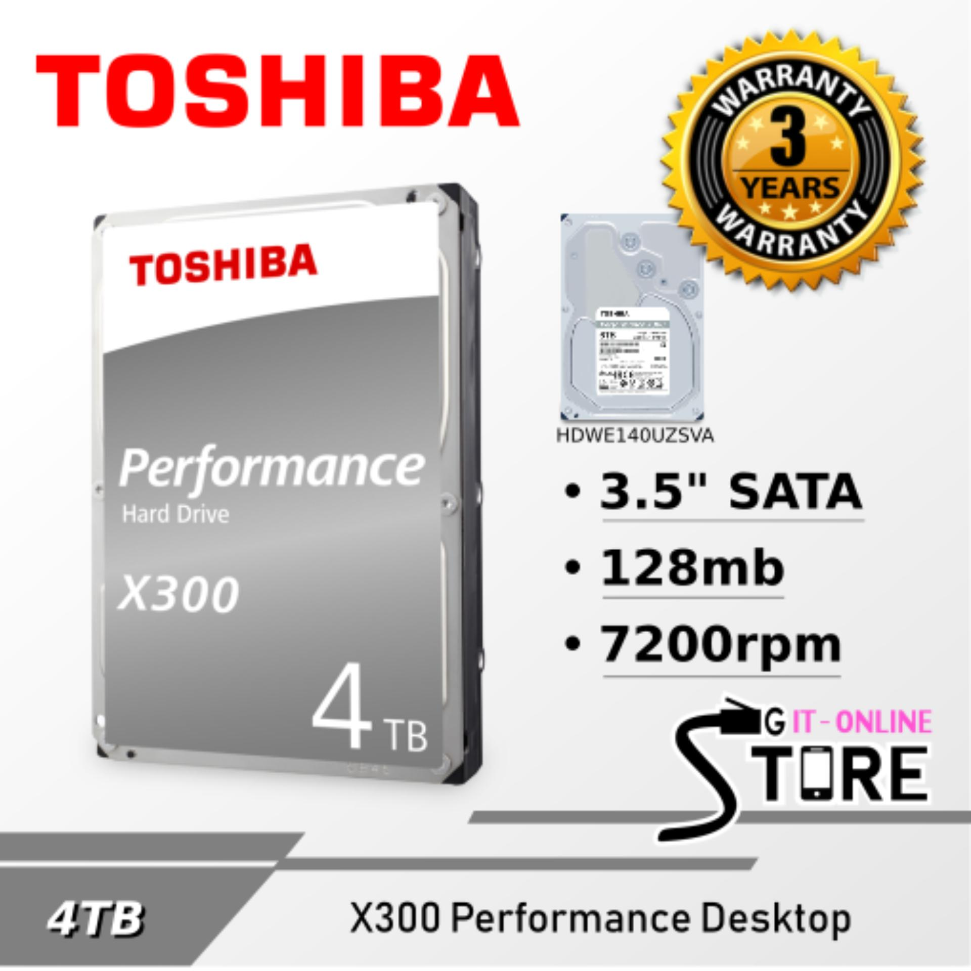 Buy Internal Hard Drives Disk Usb Lazada Hardisk 25 120gb Toshiba Hitachi Performance X300 Hdd 4tb