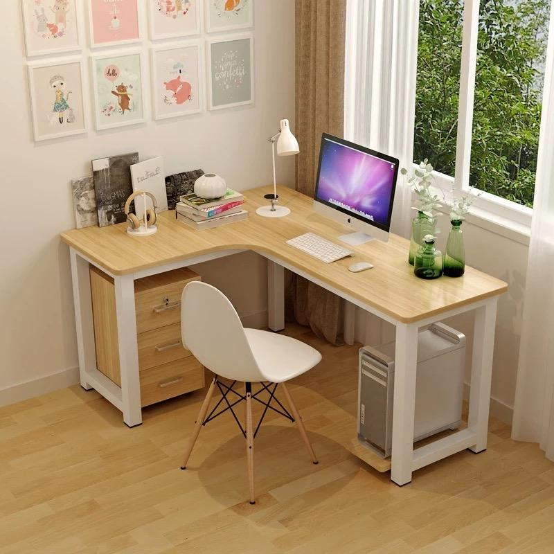 Umd Contemporary L Shaped Working Table Study Table