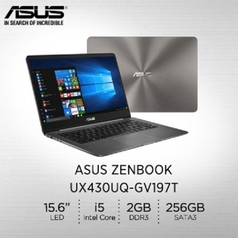 Asus UX430UQ-GV197T ZENBOOK i5-7200U (2.5GHz Turbo to 3.1GHz) / 8GB DDR4 / 256GB SSD / NV GT 940MX / 2GB DDR3 / Win 10 64 bit