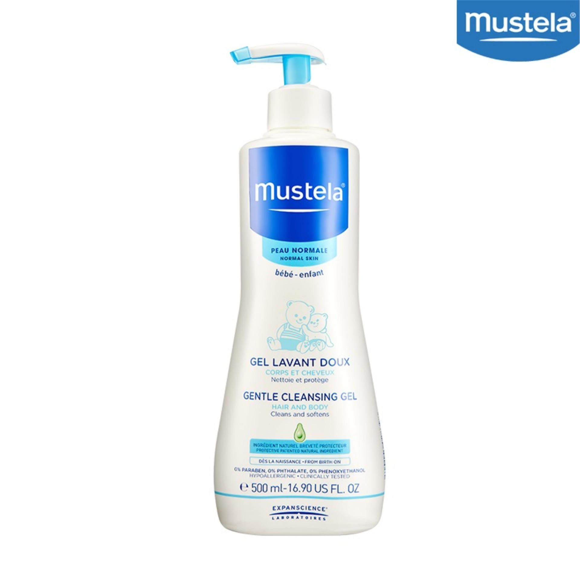 Mustela Gentle Cleansing Gel Hair And Body Wash 500Ml Intl Price Comparison