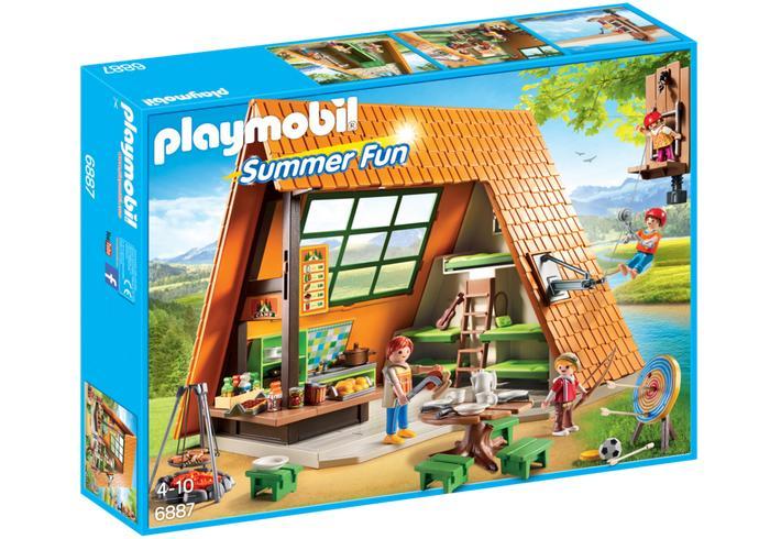 PLAYMOBIL 6887 Camping Lodge