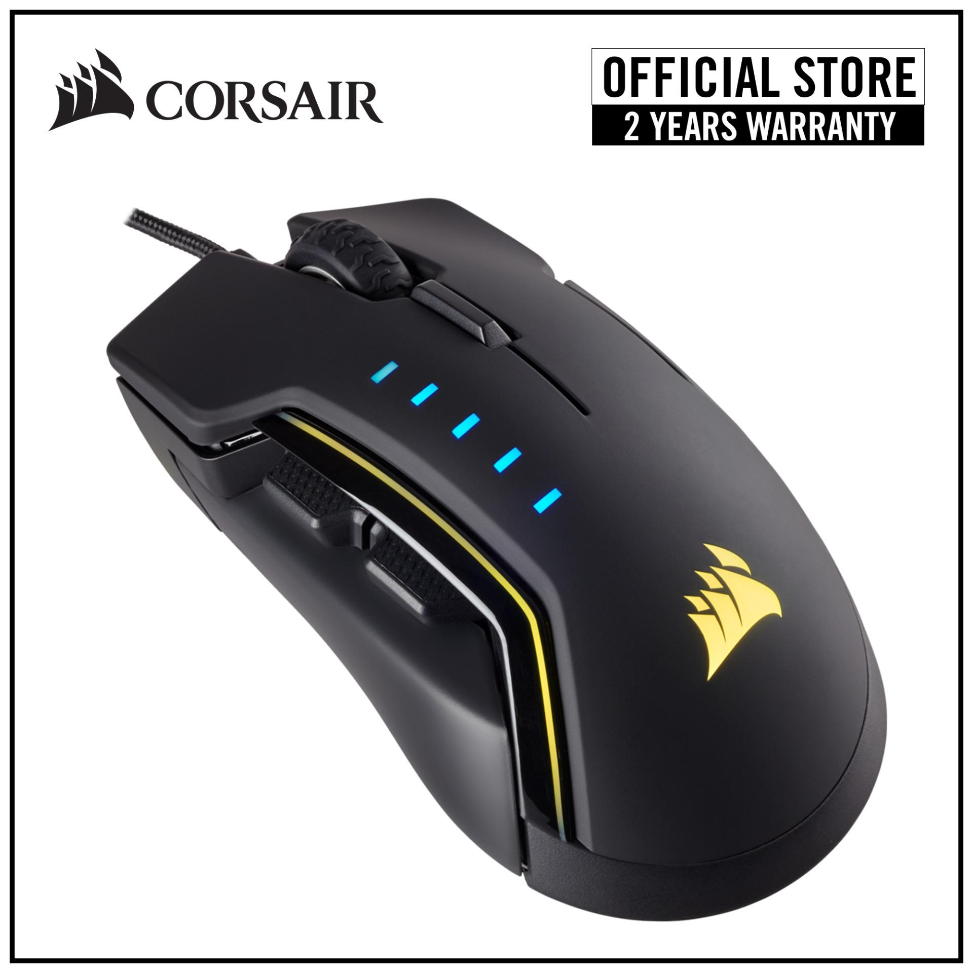 723a9881776 Singapore. CORSAIR Gaming GLAIVE RGB 16000 DPI Gaming Mouse - Black