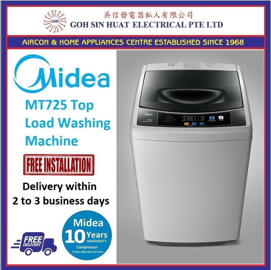 Midea Mt725 Top-Load Washing Machine (7kg) [best Seller] By Goh Sin Huat.