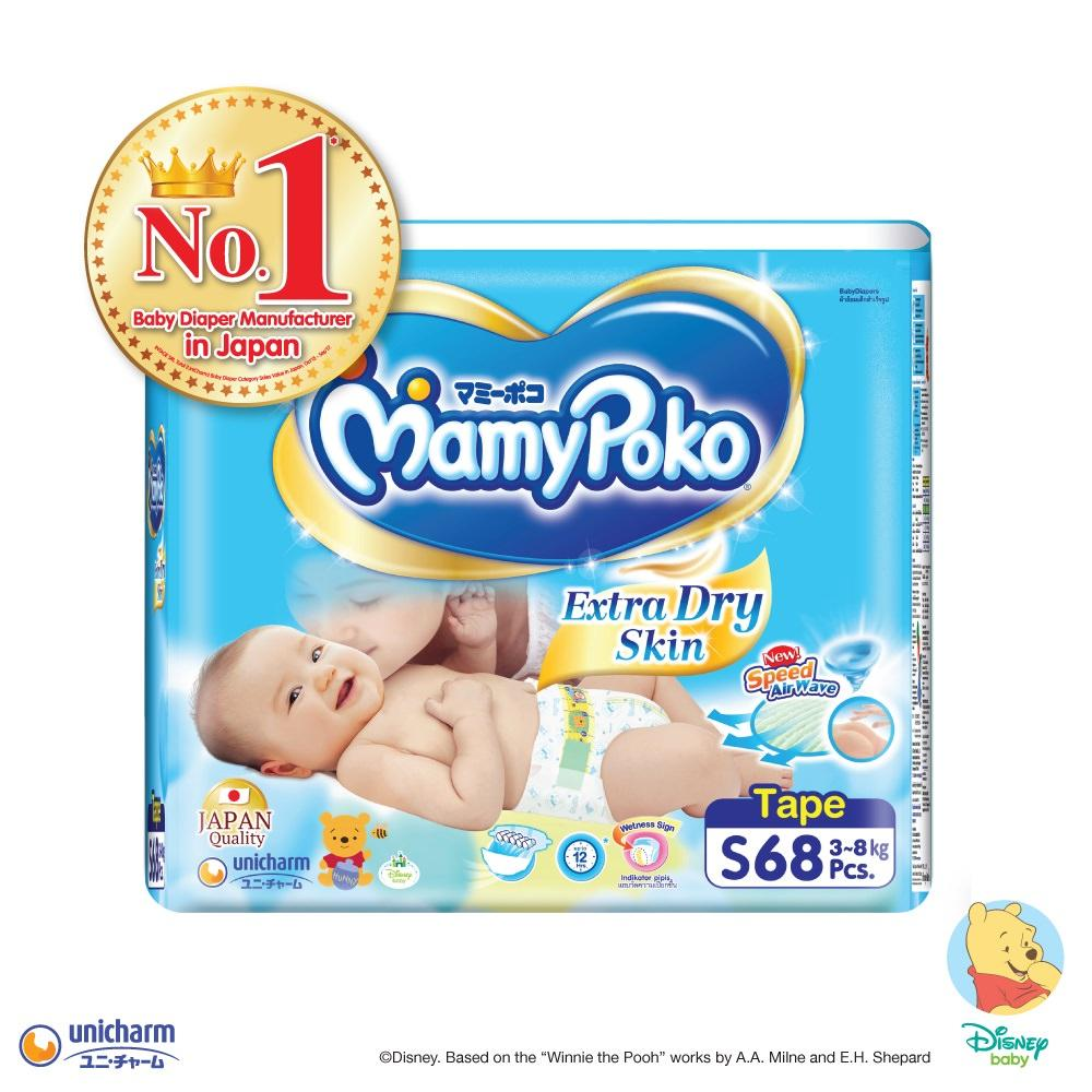 Where To Buy Mamypoko Tape Extra Dry Skin S68