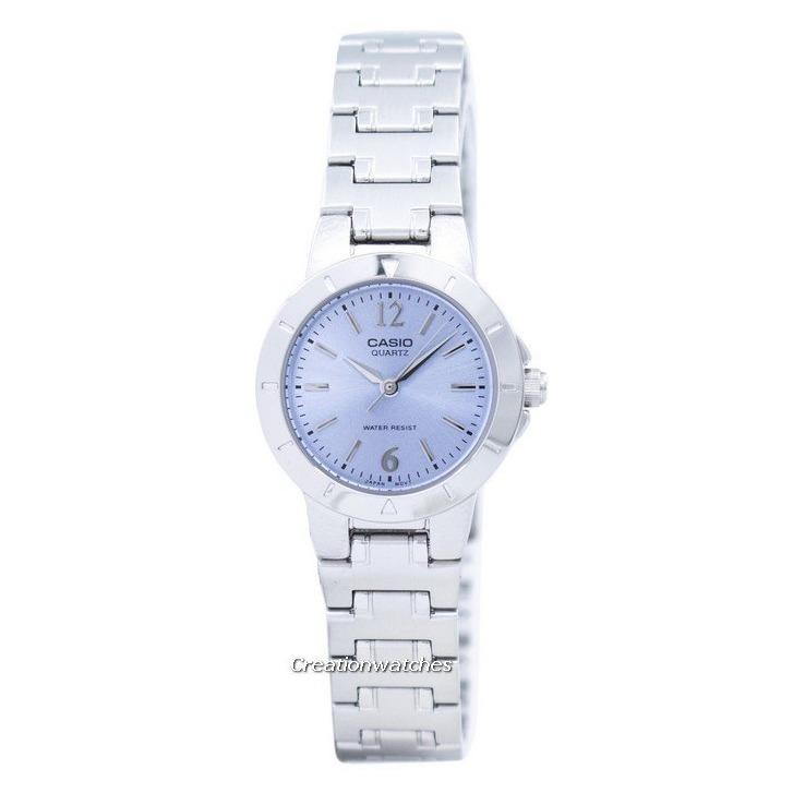 Casio Quartz Analog Women S Silver Tone Stainless Steel Strap Watch Ltp 1177A 2Adf On Singapore