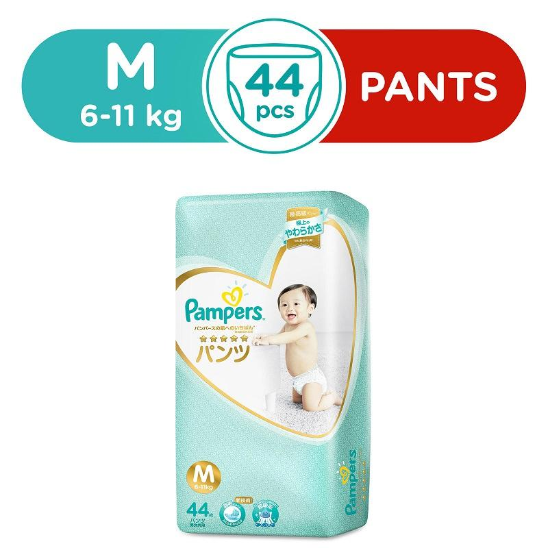 Shop For New Packaging Pampers Premium Silk Pant M44S X 1 Pack 6 10Kg Japan Version