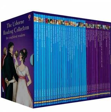 The Usborne Reading Collection for confident readers: My fourth reading library 40 books c2