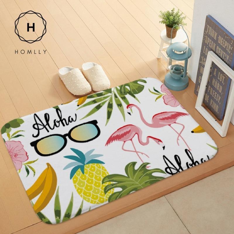 Homlly Hanalei Door Kitchen Bathroom Carpet Rug Floor Mat (Model A, 60cm x 40cm)