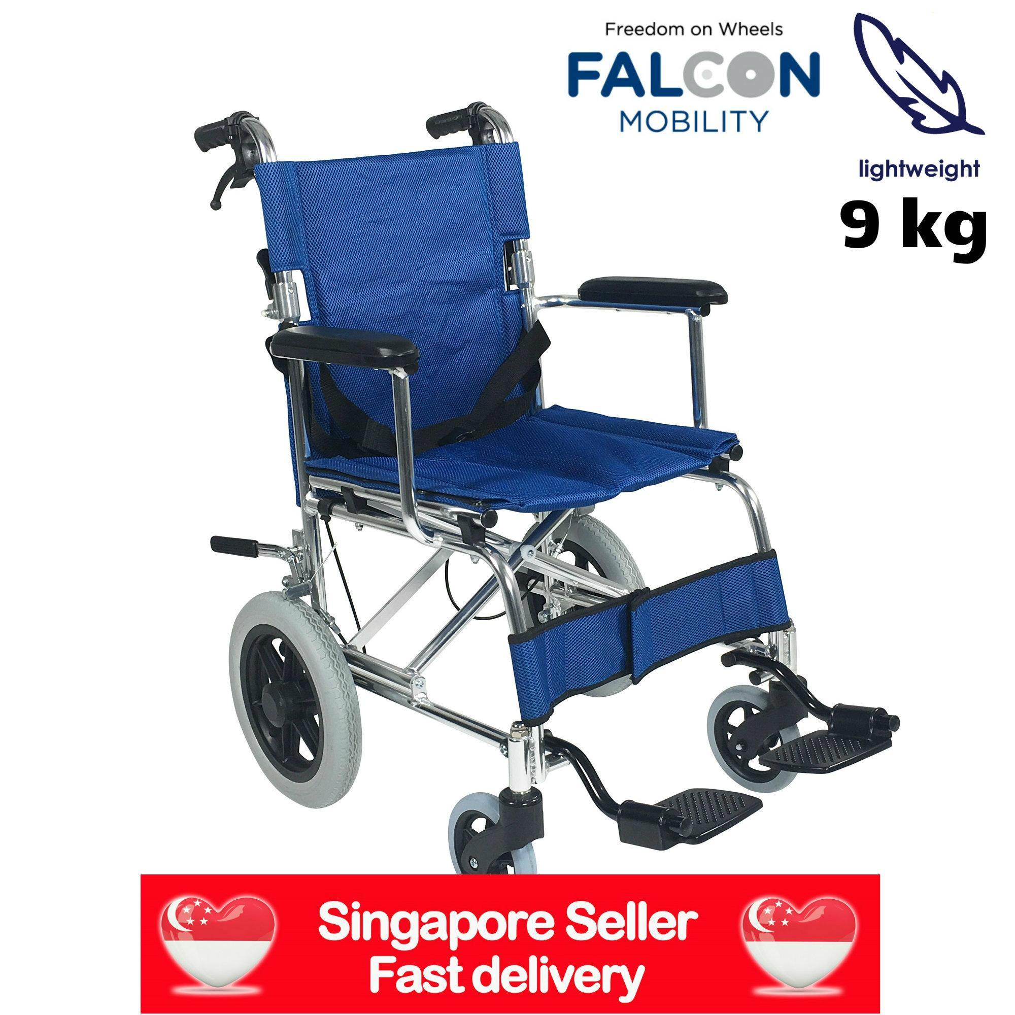 Falcon Lightweight Aluminium Pushchair (Blue)