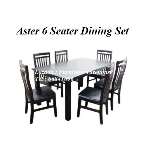 Aster 6 Seater Dining Set