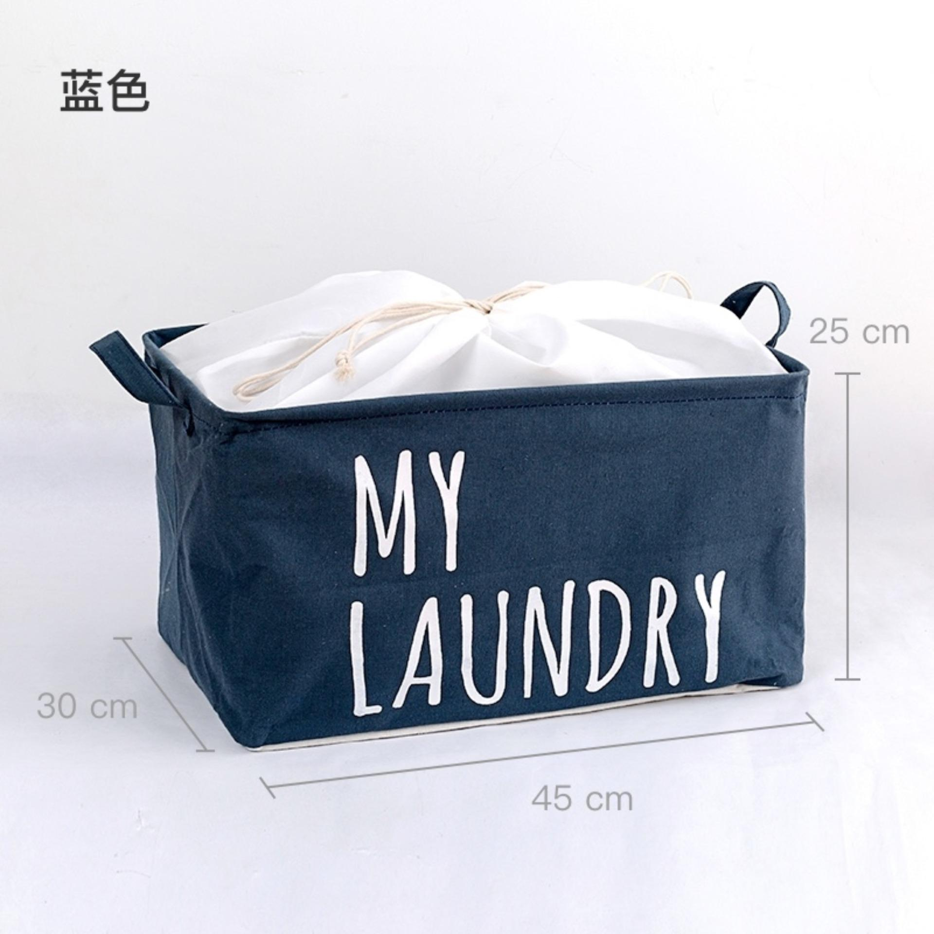 Sale Mimosifolia Outdoor Garden Picnic Baskets Bathroom Folding Storage Bins With Cubes Archival Storage Boxes For Clothes Toy Boxes Laundry Basket Shelf Baskets Blue Intl