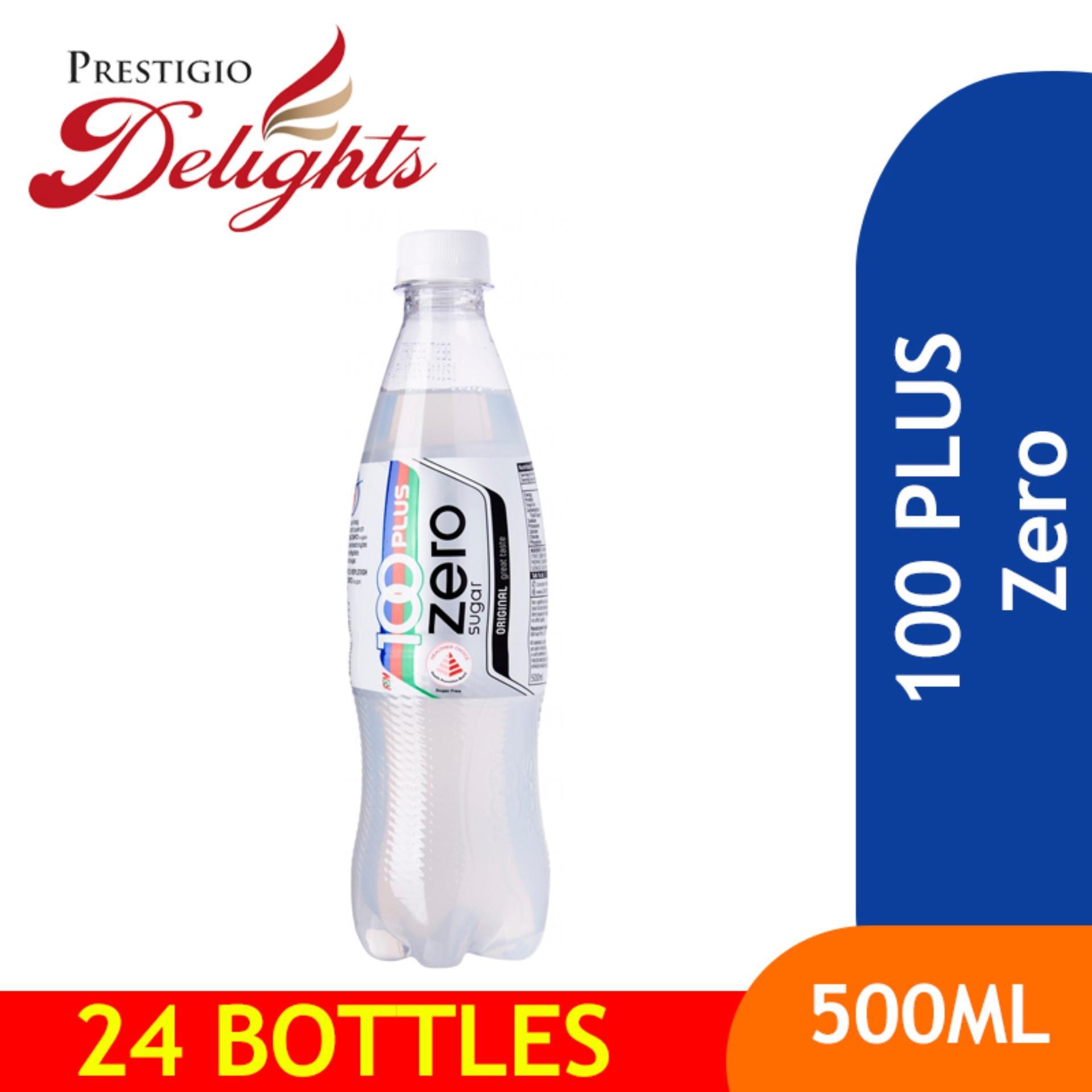 100 Plus Zero 500ml Bundle Of 24 By Prestigio Delights.