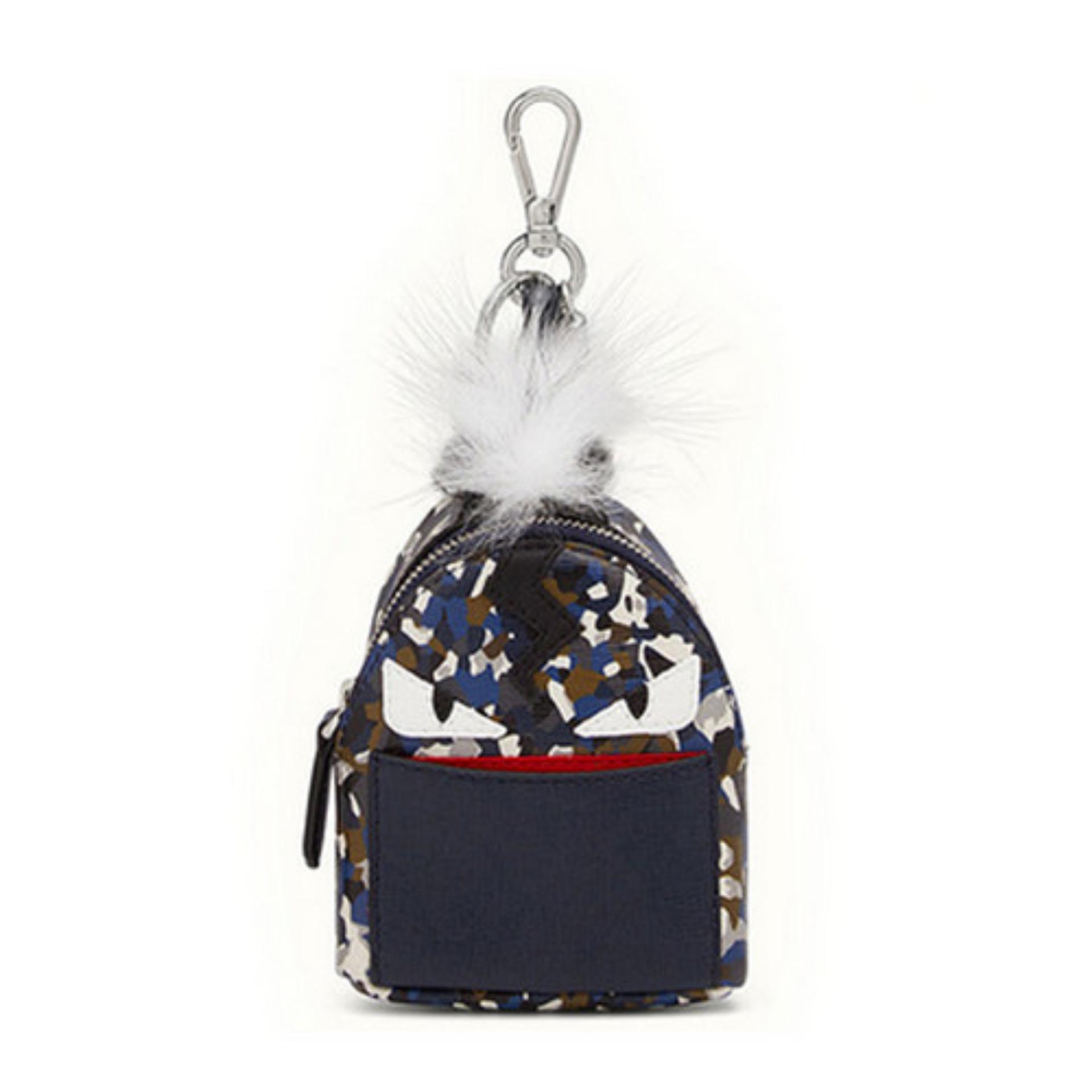 06fa0454f5 Fendi Monster Bagpack Charm Keyring (Multicolor) # 7AR4325X0F01XT