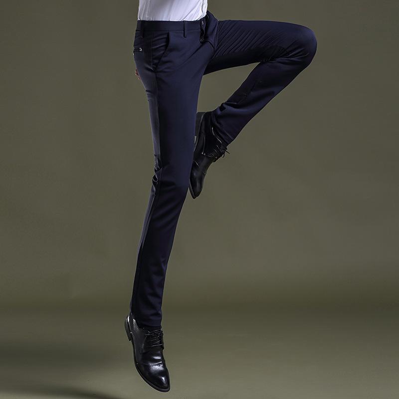 5ce69b225e1 High Quality Easy Care Big Size 28-38 Men Suit Pants