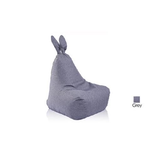 JIJI Usagi Floor Bean Chair (Bean Bag) -- Beanbag/ Bean bag Chair /Styrofoam particles filled/ Fabric outer layer/ Washable / small sofa (SG)