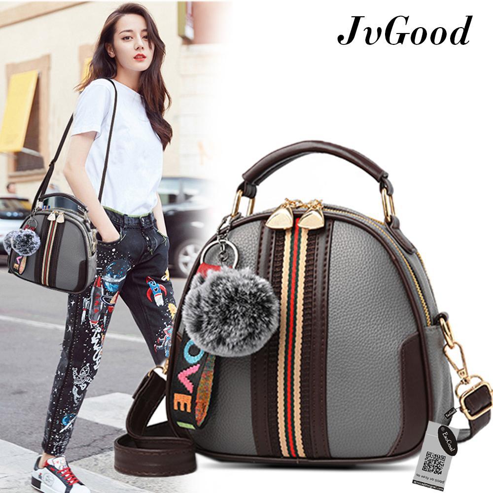 772e143401 JvGood Women Fashion Top-Handle Handbag Pu Leather Shoulder Bag Tote Purse  Messenger Satchel Bags