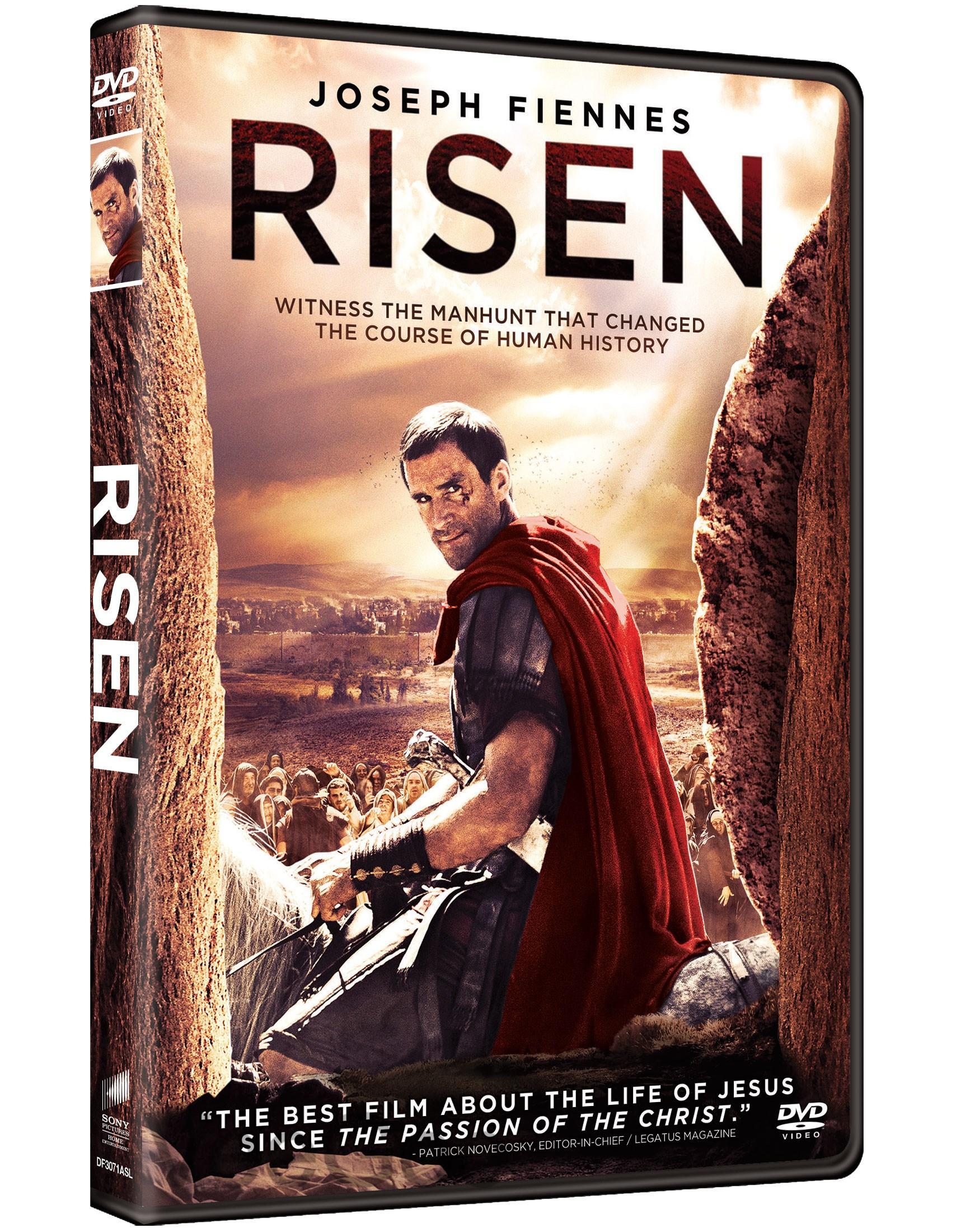 RISEN DVD (PG13/C3)