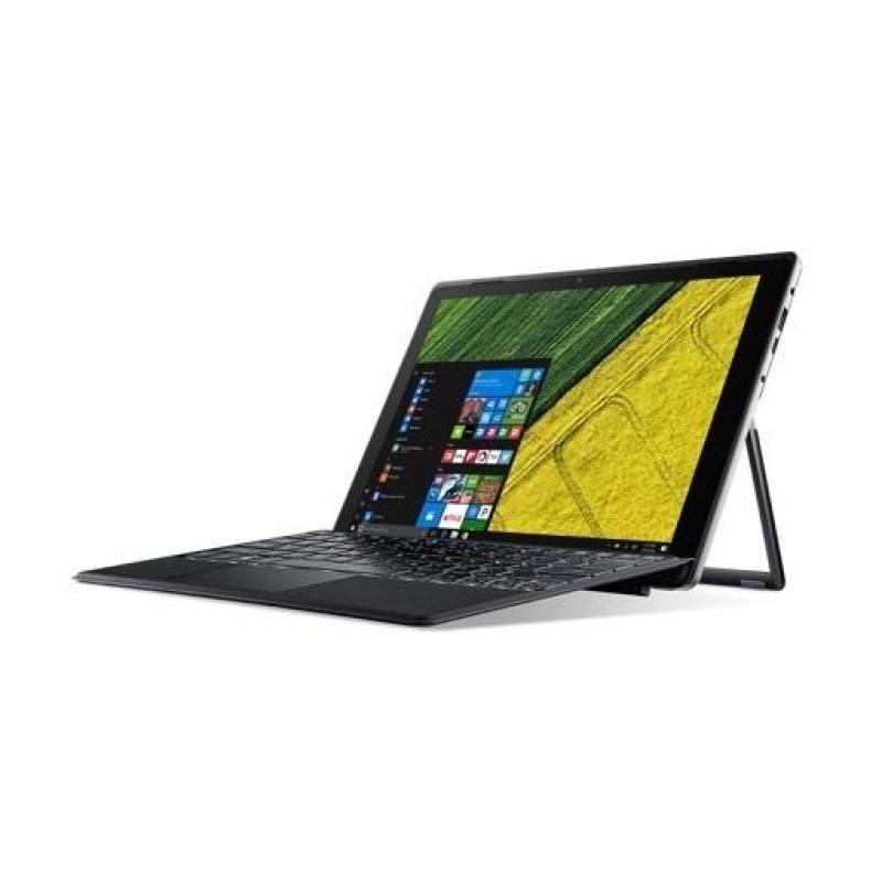 Acer Switch 5 (SW512-52P-72K1) - 12-Inch|i7-7500U|8GB|512G SSD|W10 Pro (Black)