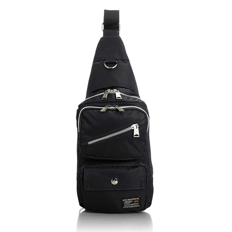 2484008ca4 ALPHA INDUSTRIES Japan Quality Nylon Material Cross Body Bag Waist Pack  12689059