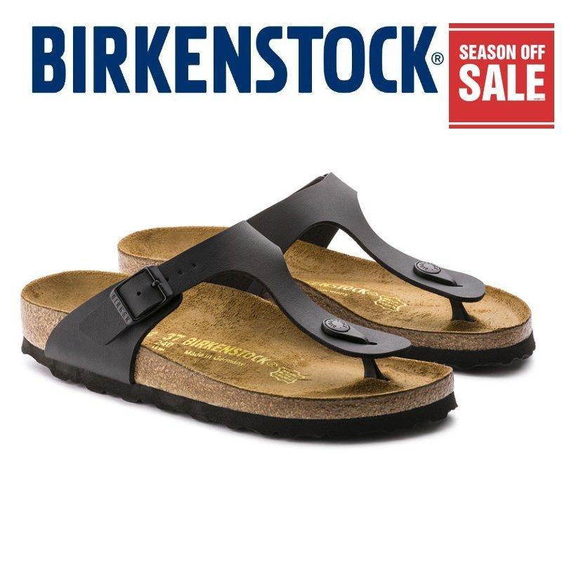 91fc7124779f (Season off SALE~) Classic Birkenstock Womens Narrow 043693 Birkenstock  Gizeh Black Birko-
