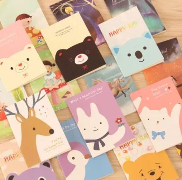 10 Pcs Bulk Buy Mini Notebook Goodie Bag Toys Stationery Gifts Children Birthday Party Christmas Carnival