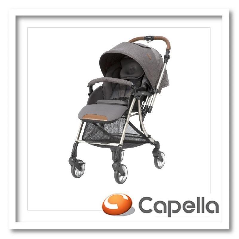 Capella S203-18-DG FREEMOVE Stroller-Dark Gray Singapore