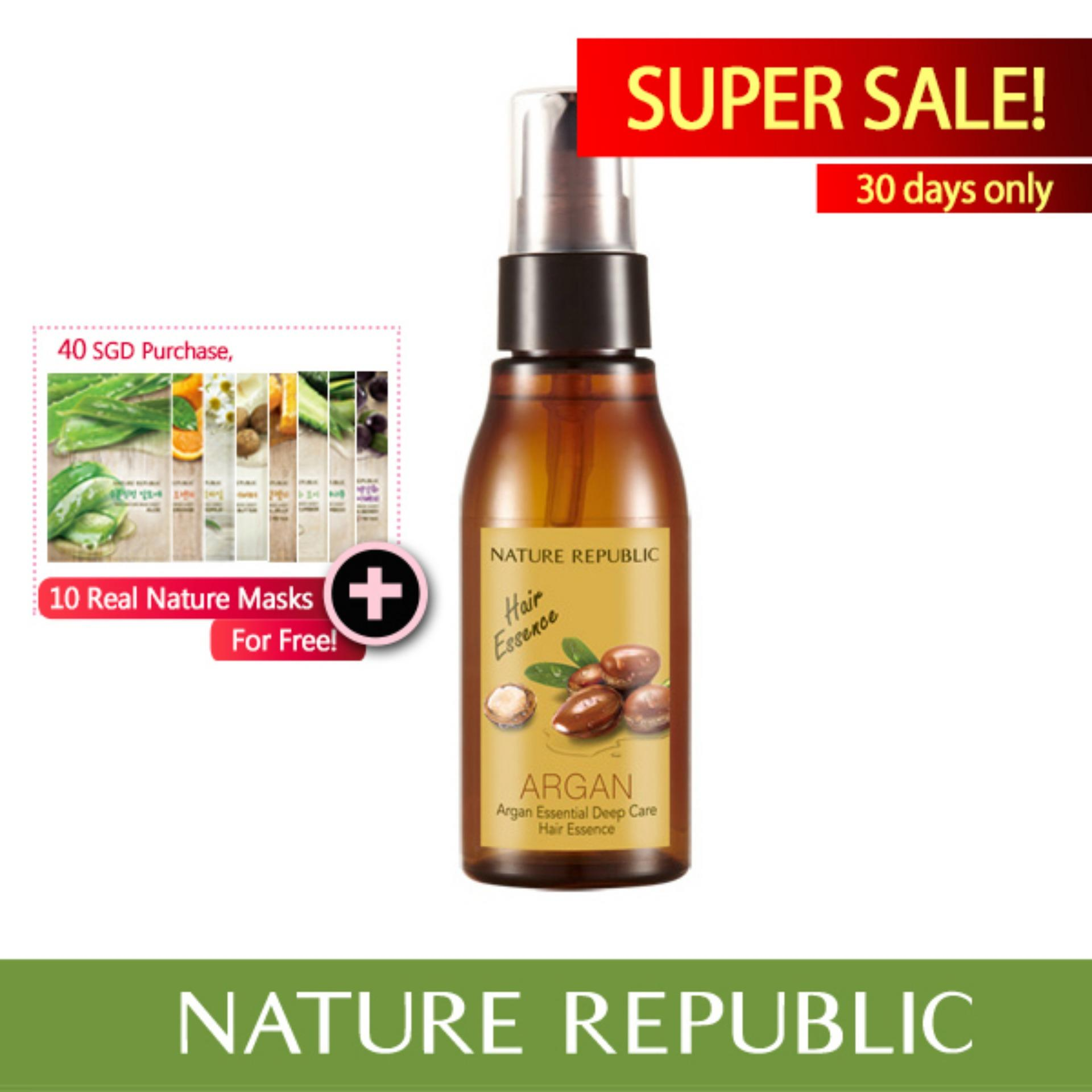 Who Sells The Cheapest Nature Republic Argan Essential Deep Care Hair Essence Online