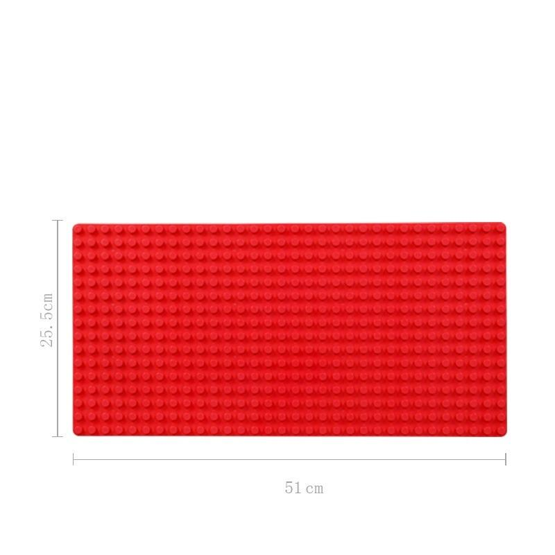 Price Comparisons Of Large Building Blocks Base Plate Building Plate 32 16 Studs 51 25 5 Cm Compatible With Lego Duplo