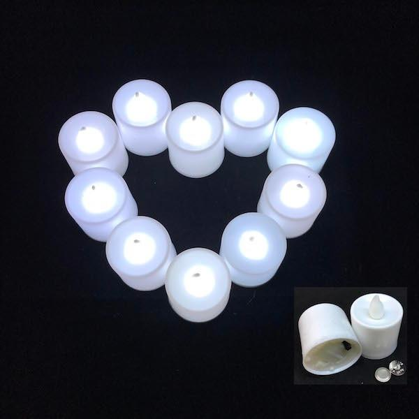 Compare Prices For 24Pcs Led Tealight Candle Battery Operated