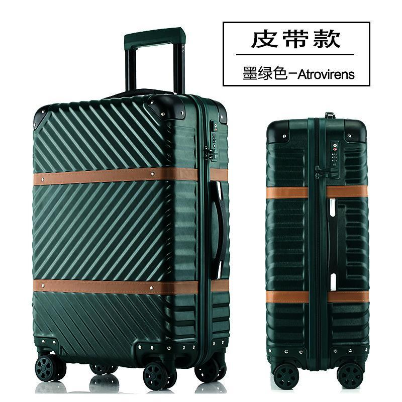 Travel suitcase with lock and wheels