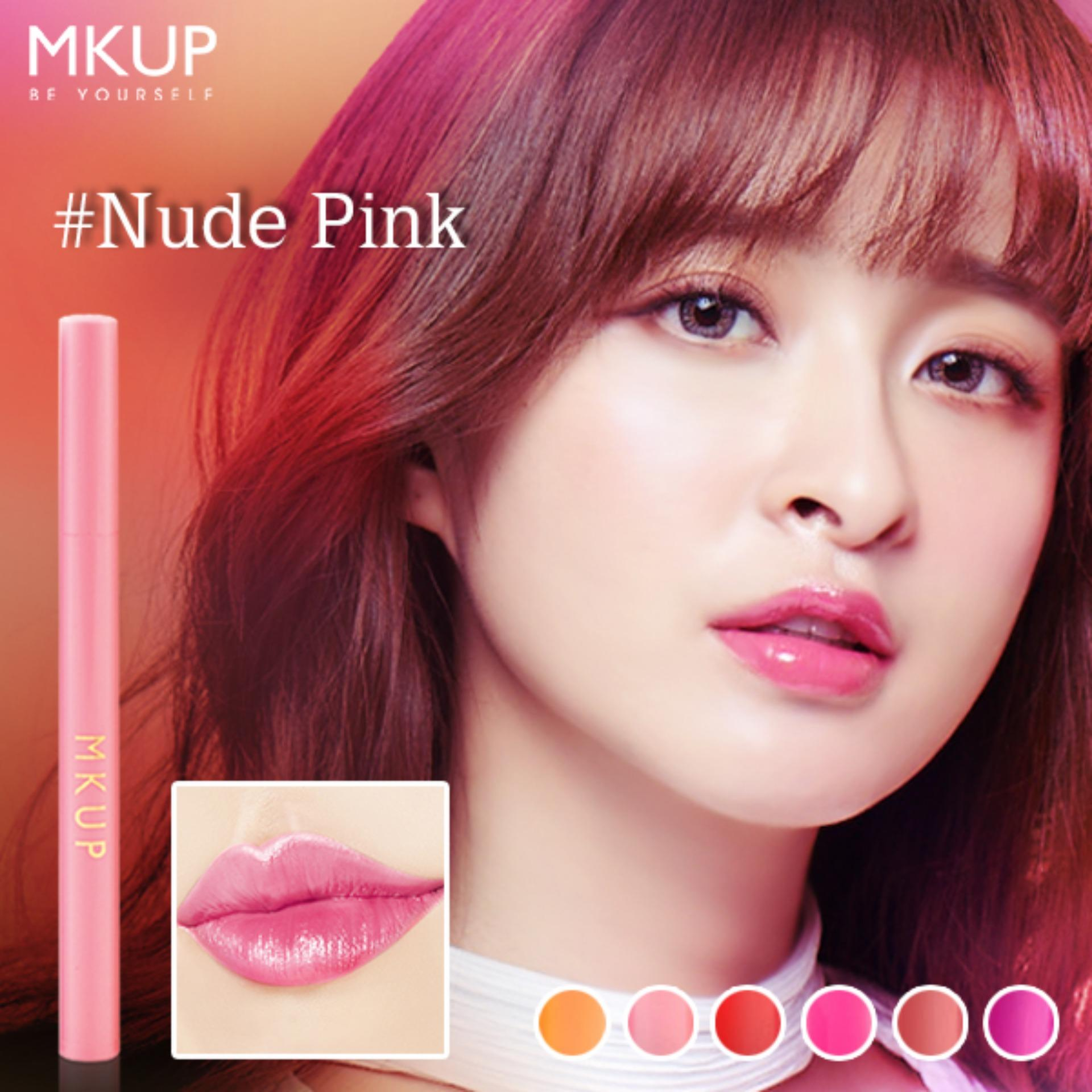 Get Cheap Mkup® Super Long Lasting Lip Pen 02 N*d* Pink