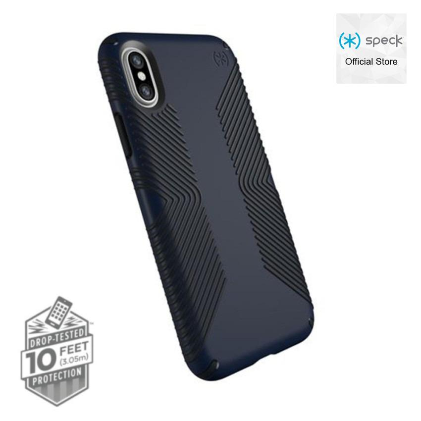 Speck Presidio Grip Case For Iphone X Eclipse Blue Carbon Black For Sale