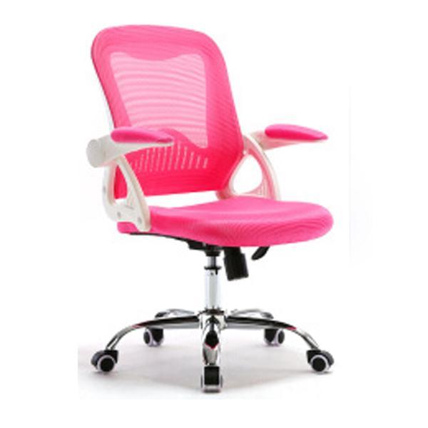C55 Office Chair (White/Pink)(Self Setup) Singapore